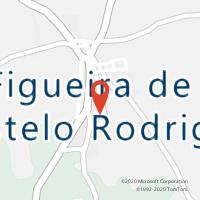 Mapa com localização da Loja CTTFIGUEIRA DE CASTELO RODRIGO