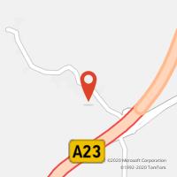 Mapa com localização da Loja CTTFREGUESIA BENQUERENÇAS