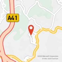 Mapa com localização da Loja CTTFREGUESIA DE GANDRA (PAREDES)