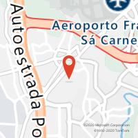 Mapa com localização da Loja CTTFREIXIEIRO