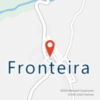 Mapa com localização da Loja CTTFRONTEIRA (Fechada)