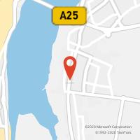 Mapa com localização da Loja CTTGAFANHA DA ENCARNAÇÃO