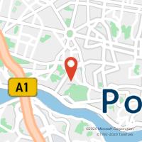 Mapa com localização da Loja CTTGALIZA (PORTO) (Fechada)