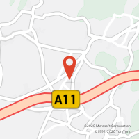 Mapa com localização da Loja CTTGILMONDE
