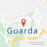Mapa com localização da Loja CTTGUARDA