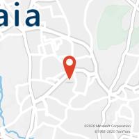 Mapa com localização da Loja CTTGUEIFÃES