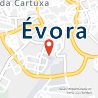 Mapa com localização da Loja CTTHORTA DAS FIGUEIRAS (ÉVORA) (Fechada)