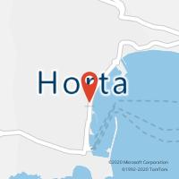 Mapa com localização da Loja CTTHORTA