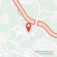 Mapa com localização da Loja CTTJ F OLIVAL
