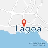 Mapa com localização da Loja CTTLAGOA (S MIGUEL)