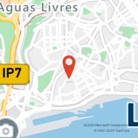 Mapa com localização da Loja CTTLAPA (LISBOA)