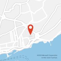 Mapa com localização da Loja CTTLARANJEIRAS
