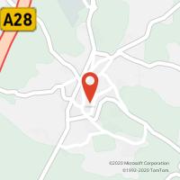 Mapa com localização da Loja CTTLAUNDOS  (OUTEIRO)