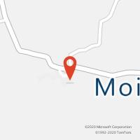 Mapa com localização da Loja CTTLEOMIL (MOIMENTA DA BEIRA)
