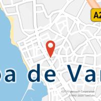 Mapa com localização da Loja CTTLEONARDO COIMBRA(POVOA VARZIM)
