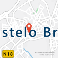 Mapa com localização da Loja CTTLOJAS STORM