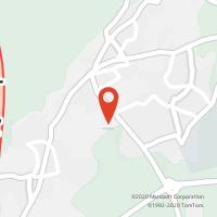 Mapa com localização da Loja CTTLOUREIRO
