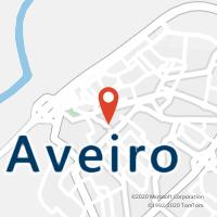Mapa com localização da Loja CTTLOURENÇO PEIXINHO (AVEIRO)