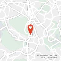 Mapa com localização da Loja CTTLOUROSA