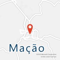 Mapa com localização da Loja CTTMAÇÃO