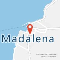 Mapa com localização da Loja CTTMADALENA (PICO)
