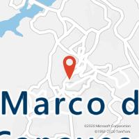 Mapa com localização da Loja CTTMARCO DE CANAVEZES