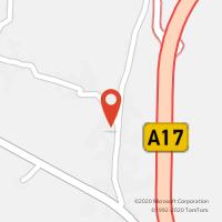 Mapa com localização da Loja CTTMARINHA DAS ONDAS