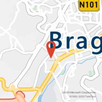 Mapa com localização da Loja CTTMAXIMINOS (BRAGA)