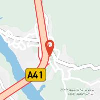 Mapa com localização da Loja CTTMEDAS (GONDOMAR)