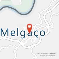Mapa com localização da Loja CTTMELGAÇO