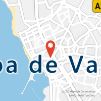 Mapa com localização da Loja CTTMERCADO (PÓVOA DE VARZIM)