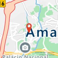 Mapa com localização da Loja CTTMIGUEL BOMBARDA (QUELUZ)