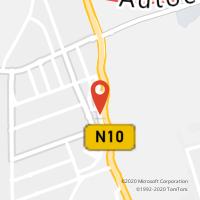 Mapa com localização da Loja CTTMODELO QUINTA DO CONDE