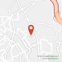 Mapa com localização da Loja CTTMODELO TAPADA MERCÊS