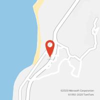 Mapa com localização da Loja CTTMOLEDO DO MINHO (Fechada)