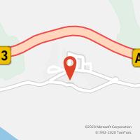 Mapa com localização da Loja CTTMONTALVO (Fechada)