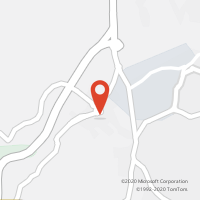 Mapa com localização da Loja CTTMONTELAVAR
