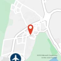 Mapa com localização da Loja CTTMONTENEGRO (FARO)