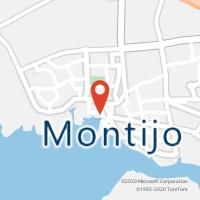 Mapa com localização da Loja CTTMONTIJO