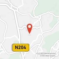 Mapa com localização da Loja CTTMOURE (BARCELOS)