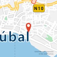 Mapa com localização da Loja CTTN S DA CONCEIÇÃO (SETÚBAL)