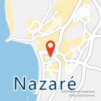 Mapa com localização da Loja CTTNAZARÉ