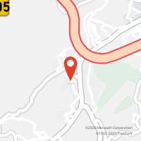 Mapa com localização da Loja CTTNESPEREIRA (GUIMARÃES)