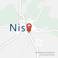 Mapa com localização da Loja CTTNISA