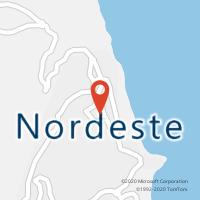 Mapa com localização da Loja CTTNORDESTE