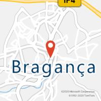 Mapa com localização da Loja CTTNOTE BRAGANÇA