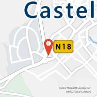 Mapa com localização da Loja CTTNOTE CASTELO BRANCO