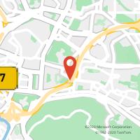 Mapa com localização da Loja CTTNOTE FONTE NOVA