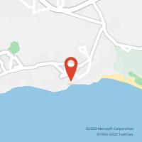 Mapa com localização da Loja CTTOLHOS DE ÁGUA