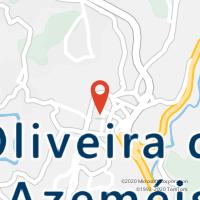 Mapa com localização da Loja CTTOLIVEIRA DE AZEMÉIS